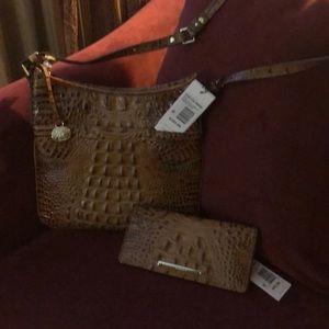 Brahmin purse and wallet